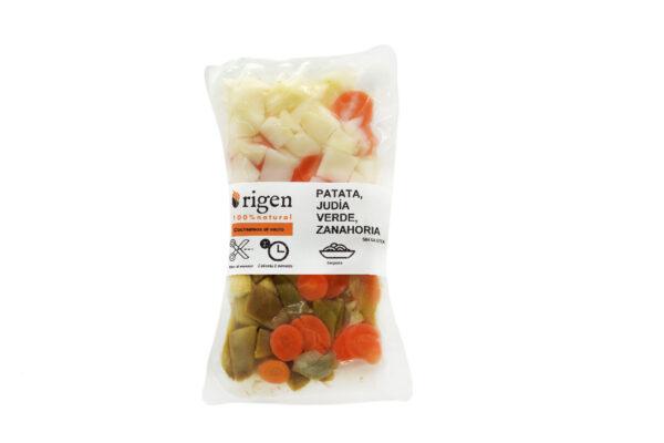 Patata, Judia Verde y Zanahoria