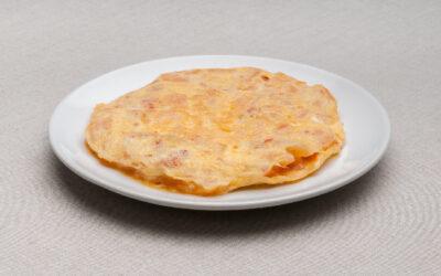 Truita de Patata i Xistorra