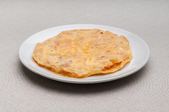 Tortilla de Patata y Chistorra