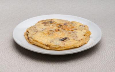Tortilla de Patata y Morcilla