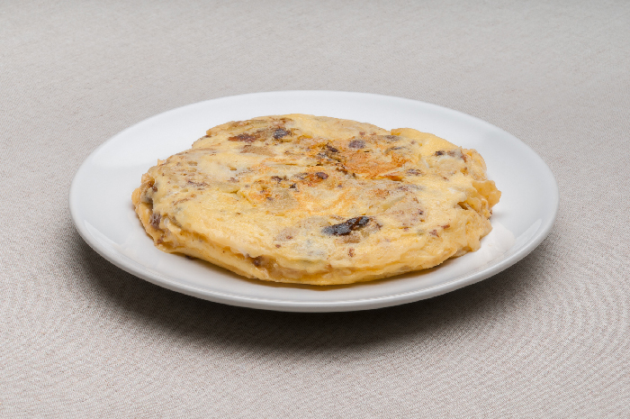 Tortilla Patata y Morcilla (Base)
